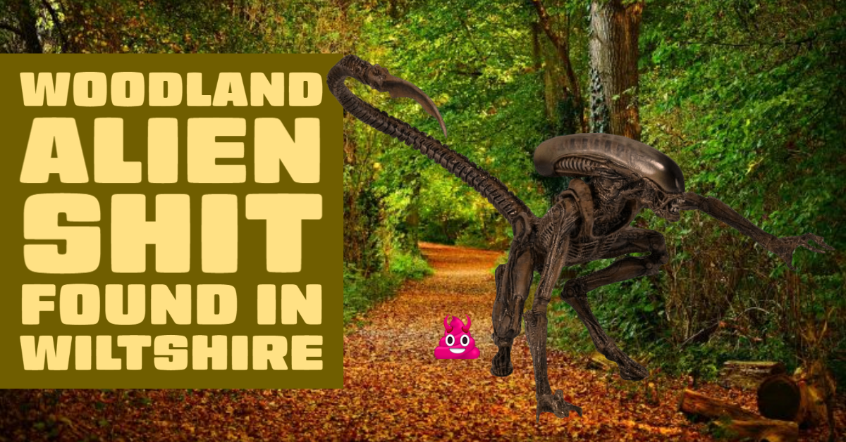 Alien Shit Found Near Crop Circle