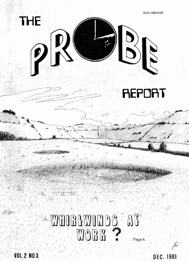 A copy of the PROBE Report edited by Ian. It features a suitably circles focused front cover.
