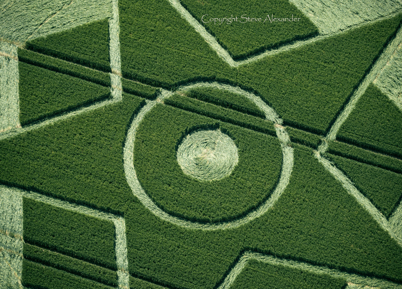 June 2014: Besford Crop Circle