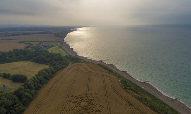 2017 Circles: Climping Beach, Atherington