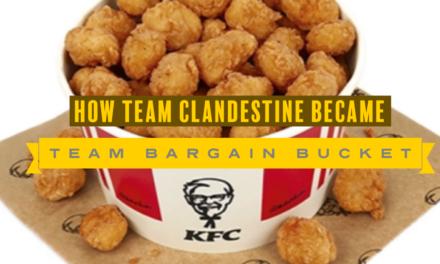 Team Bargain Bucket, Sponsored by KFC