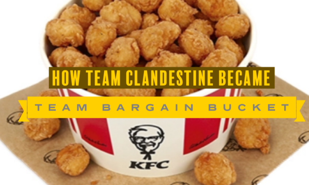 Team Bargain Bucket, Sponsored by KFC