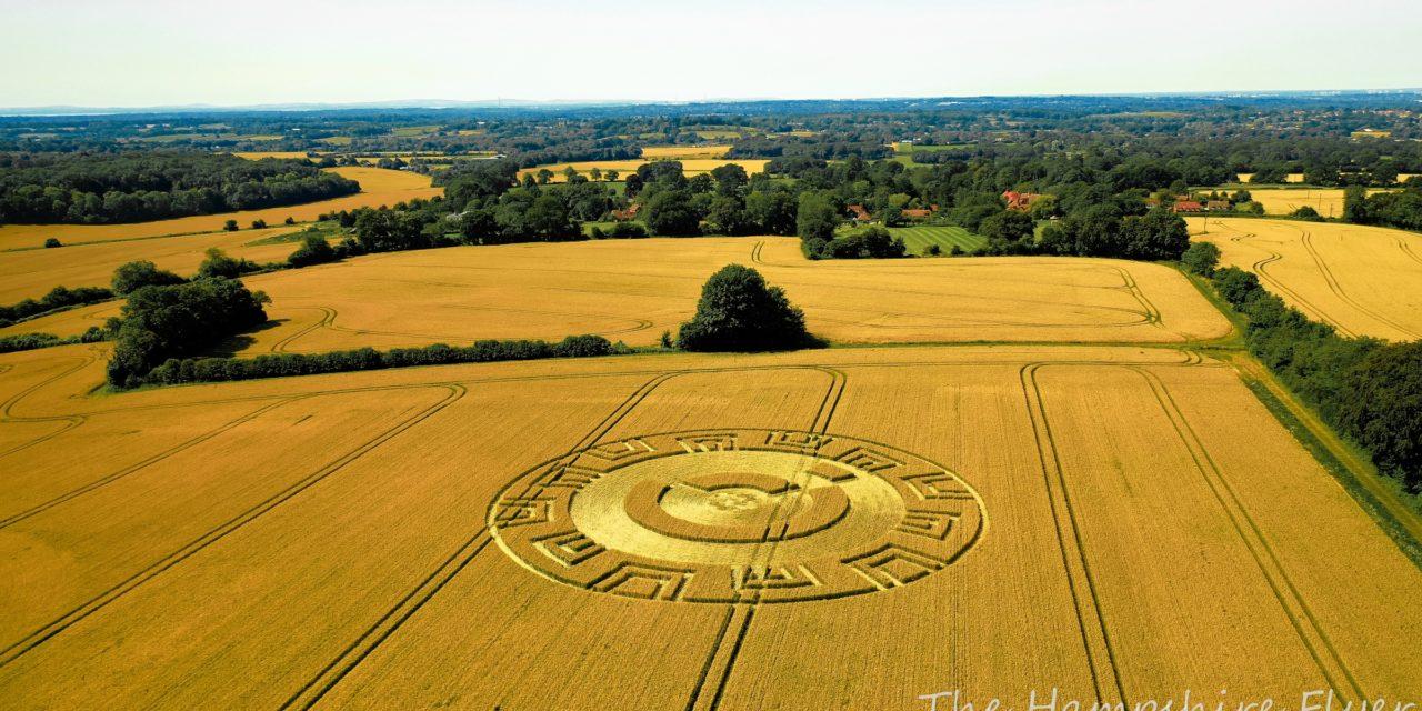 2021 Circles: Woodcote Lane, Upham, Hampshire